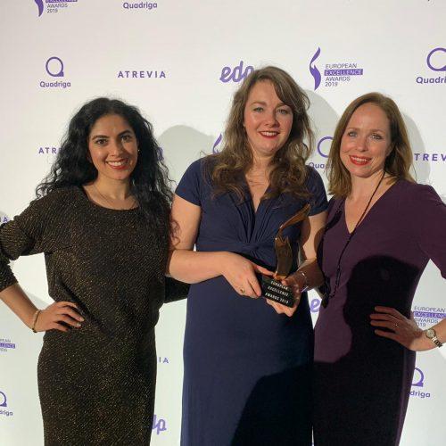 'Door de ogen van' wint European Excellence Award.